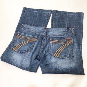 7FAM Dojo flare jeans sz 32